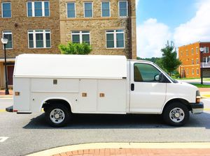 2008 Chevy express KUV Walk in utility Service truck for Sale in Rockville, MD