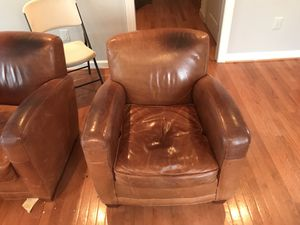 Mitchell Gold Leather chair(s) for Sale in North Potomac, MD