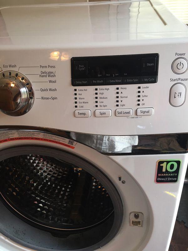 Samsung Front Loader Washing Machine Appliances In