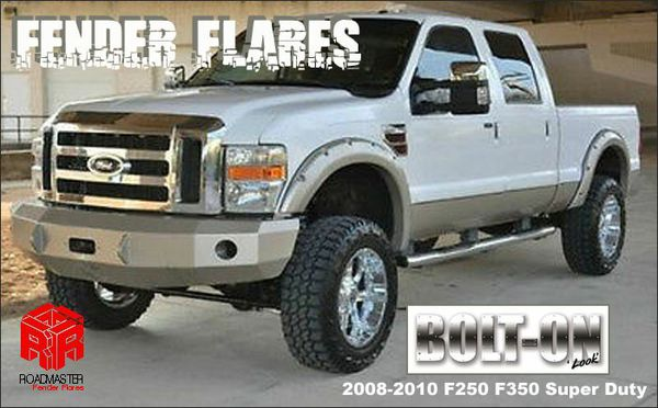 Smooth Matte Black Fender Flares 2008 2010 Ford F250 F350 Super Duty For Sale In Houston Tx Offerup