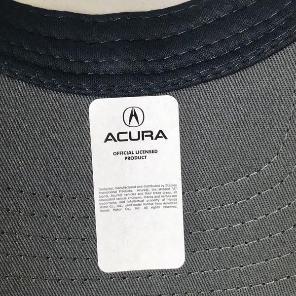 Brand New ACURA Baseball Cap Hat Blue Grey White Never Worn - Acura hat