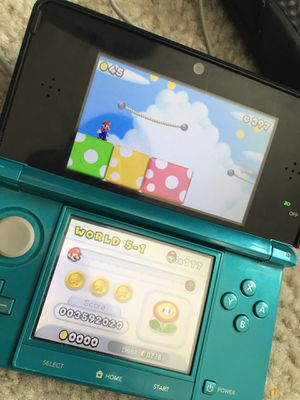 Nintendo 3DS Launch Edition from 2011, New Super Mario Bros  2 Included for  Sale in Columbia, MD - OfferUp