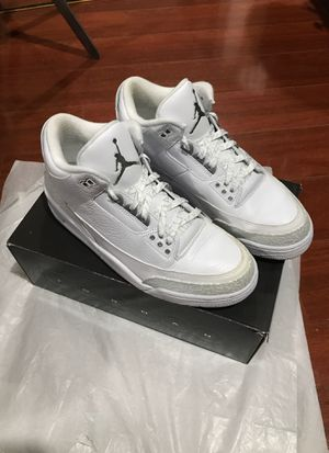 "buy popular 20f25 3b734 Air Jordan 3 ""Silver Anniversary"" sz 10.5 for Sale in Santa Ana, CA"