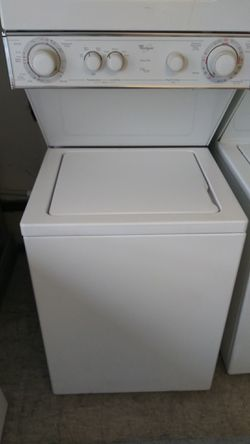 Whirlpool Stackable washer and gas dryer Thumbnail