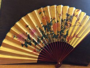 Decorative Japanese Fan for Sale in Portland, OR