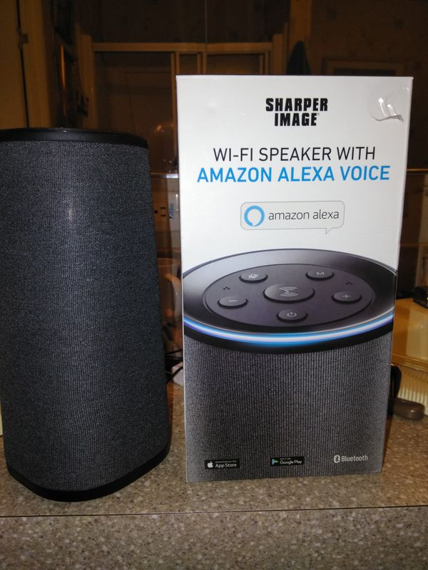 Sharper Image Tower Bluetooth Speaker With Alexa For Sale In Lugoff