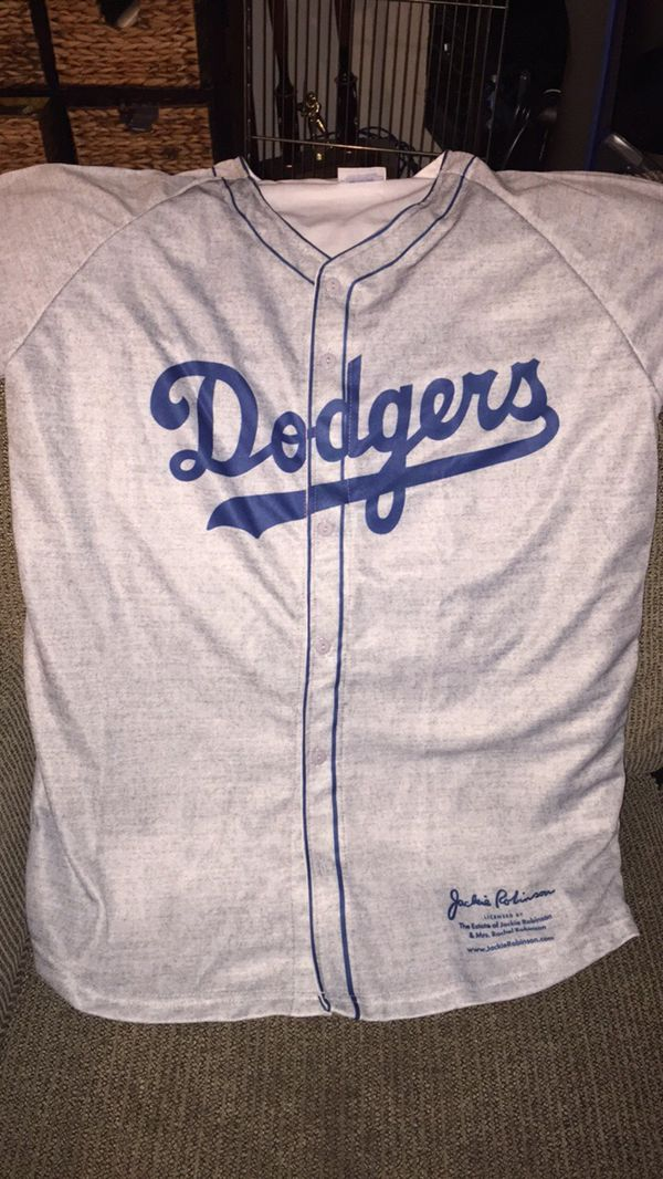 reputable site a42d2 f2742 Brand new XL Jackie Robinson Jersey. Game giveaway for Sale in Los Angeles,  CA - OfferUp