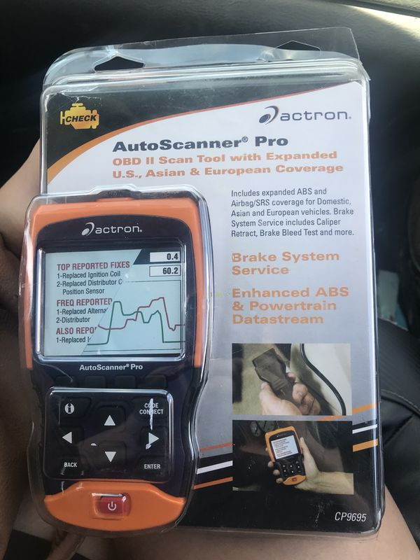 Actron Auto scanner pro cp9695 / OBD 2 scanner for Sale in Littlerock, CA -  OfferUp