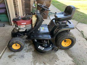 "Photo Yardman 46"" deck 21 hp Twin Riding Mower Lawn Tractor"