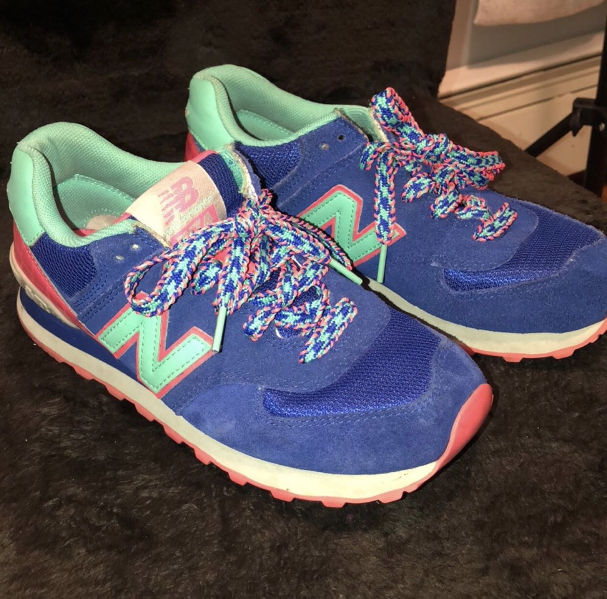 New Balance Color Block Sneakers