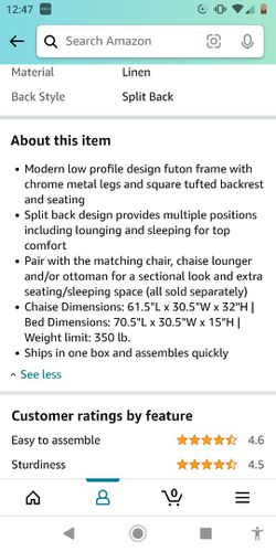 Futon Couch And Sofa Thumbnail