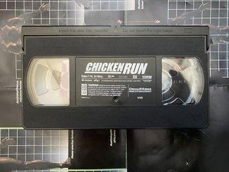 Chicken Run VHS Videocassette Tape Animated Movie Fim Thumbnail