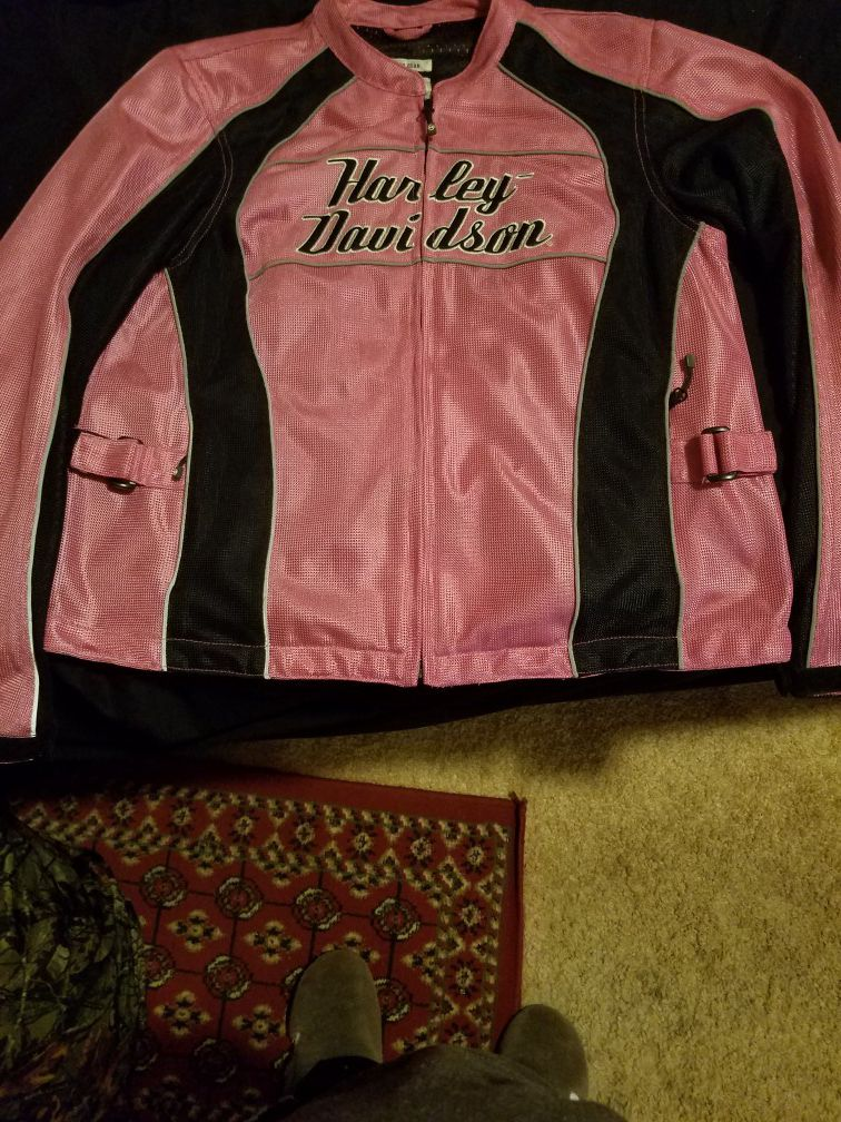 Photo Genuine Harley Davidson Womens Jacket