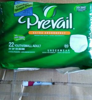 Prevail Adult Underwear sm/22ct for Sale in MD, US