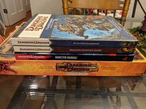 Dungeons & Dragons Book and Game Lot for Sale in Silver Spring, MD