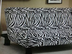 Zebra Print Futon For In Irving Tx