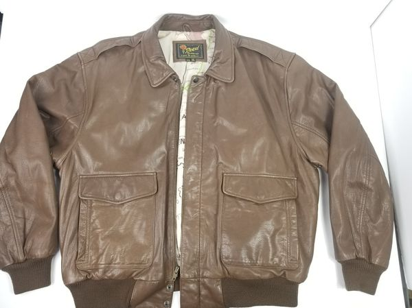 555a68d3d Vintage soft leather bomber jacket by Reed Sportswear. Flight Map lining  pattern! RARE FIND!$95 or make me an offer!! for Sale in Seattle, WA - ...