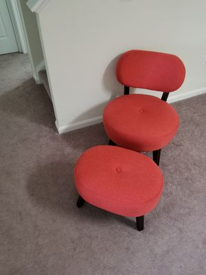 Chair and Ottoman for Sale in Centreville, VA