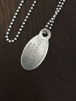 Tiffany tag chain for Sale in Branford, CT