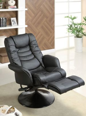 RECLINER PUSH-BACK BLACK for Sale in Hialeah, FL
