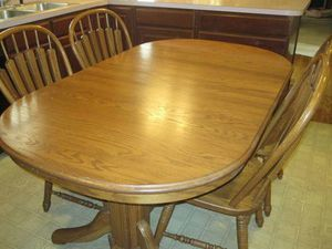 Richardson Brothers Company Oak Table Extendable For In Utica Ny