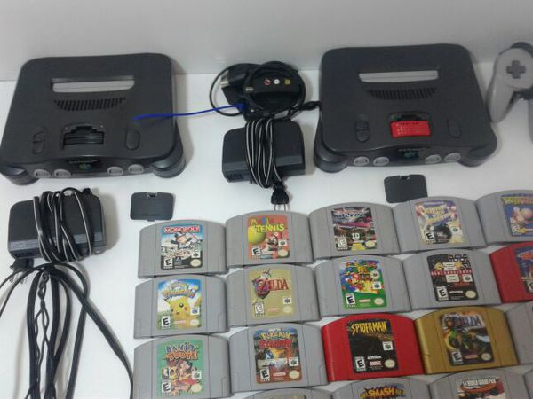 NINTENDO 64 AND NINTENDO GAMES for Sale in Panama City Beach, FL - OfferUp