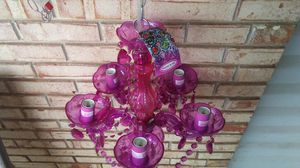 New and used chandeliers for sale in my location offerup purple chandelier by molly n me aloadofball Gallery