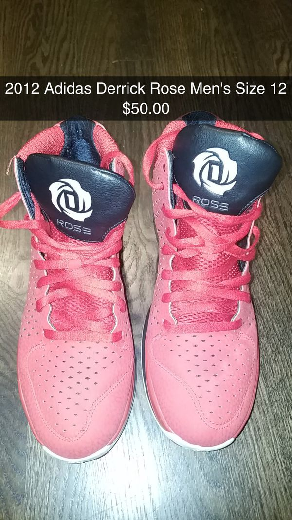 2012 Adidas Derrick Rose Men s Size 12 Shoes - NAPERVILLE Pick Up Only 23210956cccc