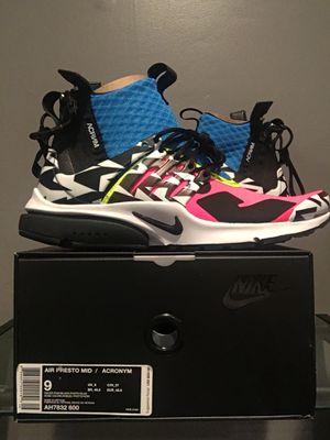Nike Acronym Presto size 9 for Sale in Springfield, VA