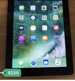 4th generation iPad 64 GN wifi only 250$ iPad only . No iCloud lock for Sale in San Diego, CA