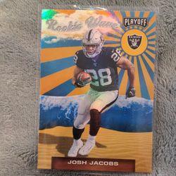 Josh Jacobs Rookie Wave  Thumbnail