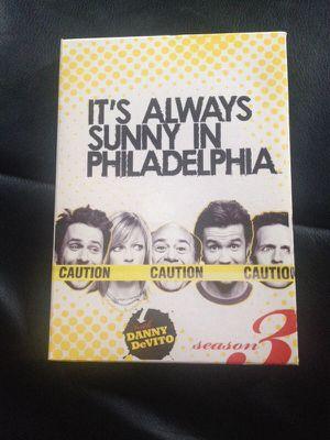 DVD always sunny in Philadelphia season three for Sale in Detroit, MI