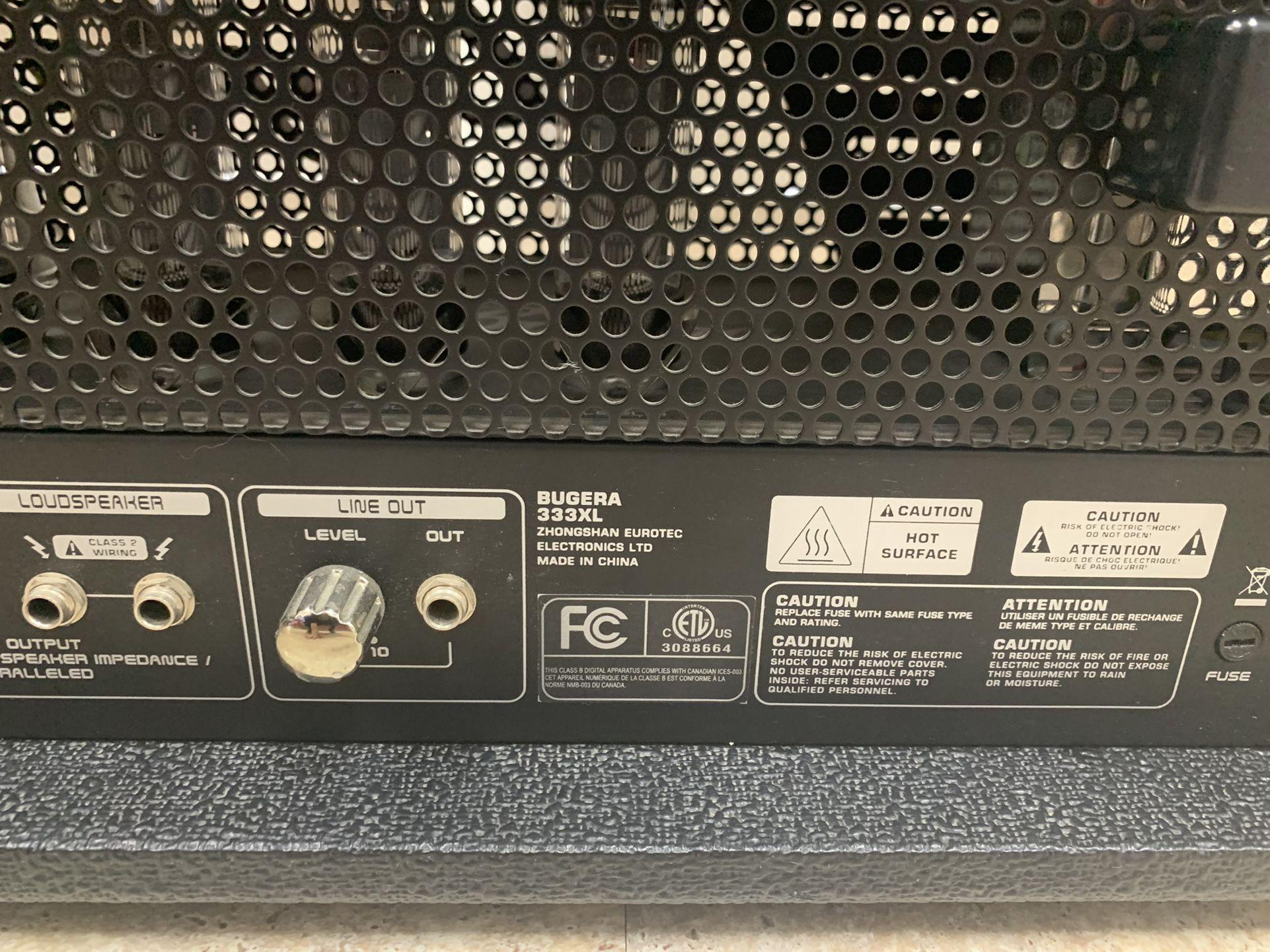 Bugera Infinium Amplifier Head *7119-1*