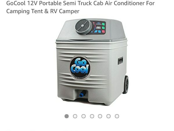 Go cool 12v portable semi truck cab air conditioner for camping tent open in the appcontinue to the mobile website publicscrutiny Images