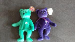 1997 Princess Diane and Erin Beanie Babies for Sale in Manassas, VA