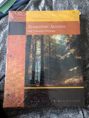 Elementary Algebra with Enhanced Web Assign for Sale in Riverside, CA
