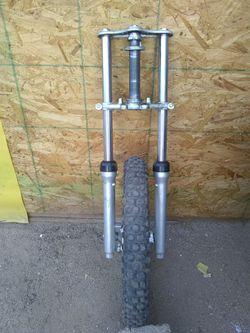 Pit bike front end Thumbnail