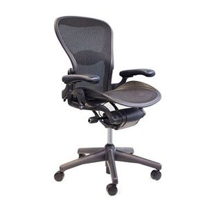 Excellent condition Herman Miller Aeron Chair, Black for Sale in San Francisco, CA