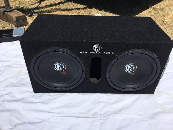 memphis sr 12 speakers and sr1 250 amplifier for sale in saint petersburg fl offerup offerup