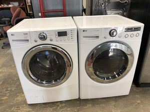 LG WASHER AND DRYER for Sale in Chantilly, VA