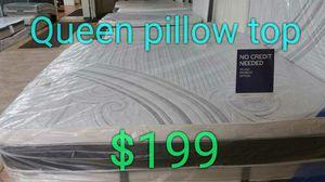 Queen Pillow Top $199 for Sale in Springfield, VA