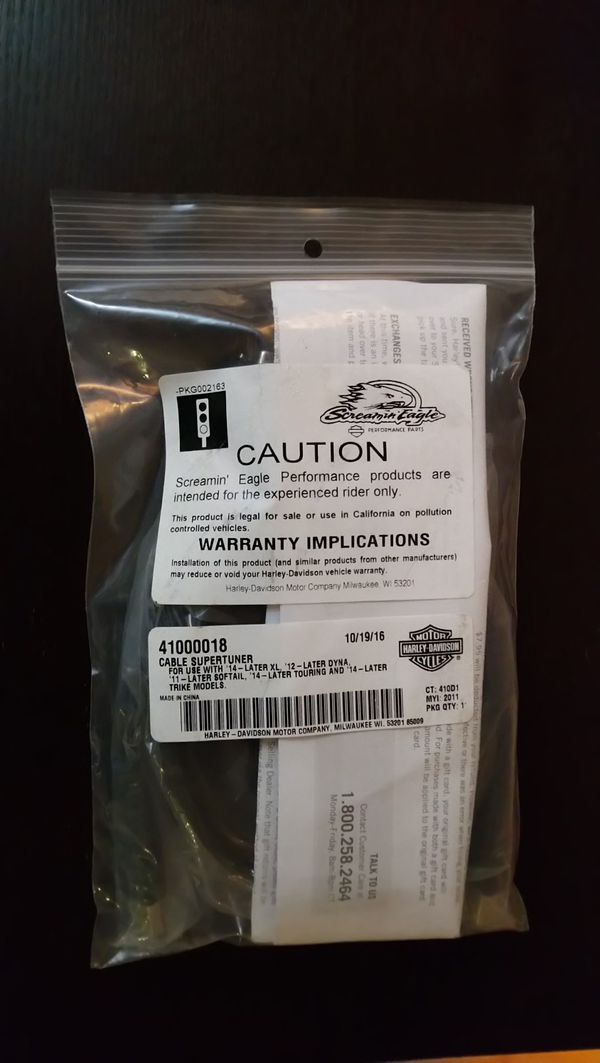 Harley-davidson tuner cable 41000018 for Sale in Justice, IL - OfferUp