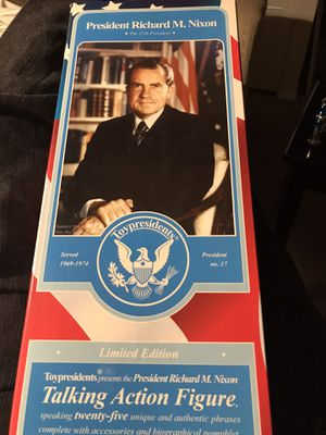 Talking Action Figure President Nixon doll for Sale in Washington, DC