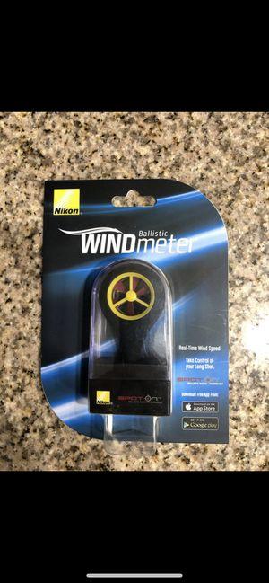 Photo Nikon Spot On Ballistic Wind Meter