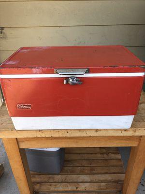 Coleman Vintage Cooler for Sale in Los Angeles, CA