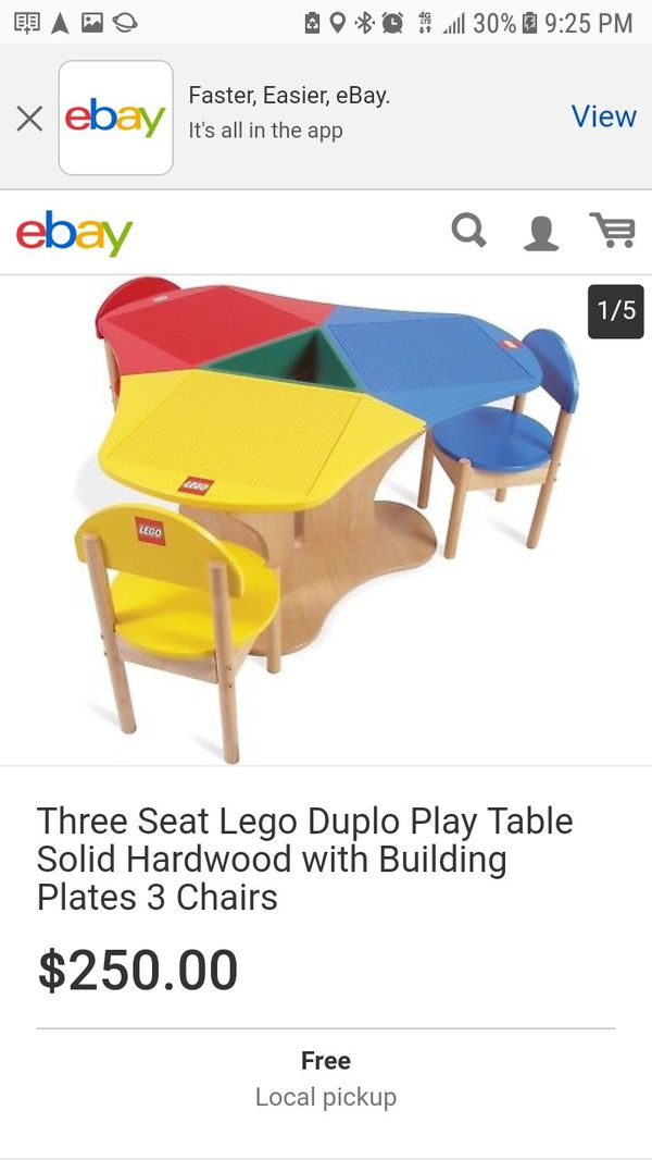 Lego 3 seat play table for Sale in Citrus Heights, CA - OfferUp