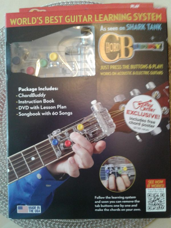 Chord Buddy Guitar Learning System For Sale In Hemet Ca Offerup