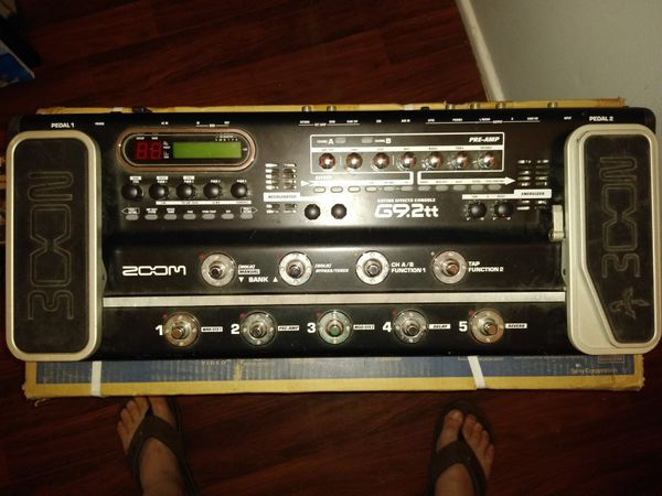 ZOOM G9 2tt Guitar Effects Console for Sale in Grifton, NC - OfferUp