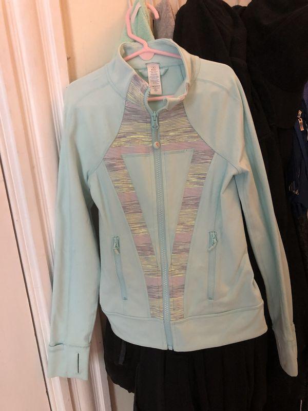 33dd2de7957f84 Girls Ivivva by Lululemon zip up hoodie size 8 for Sale in Boston ...