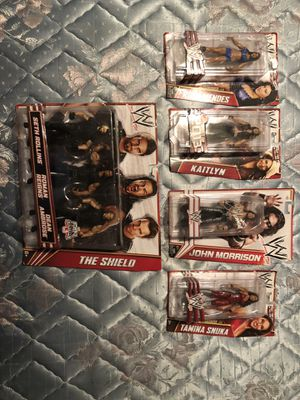Wwe Action figures in box new never used Price negotiable $100 for Sale in Orlando, FL